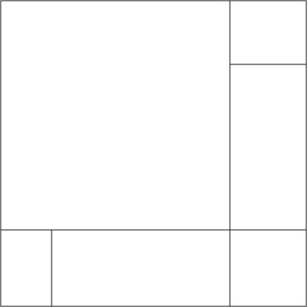 Asymmetrica block