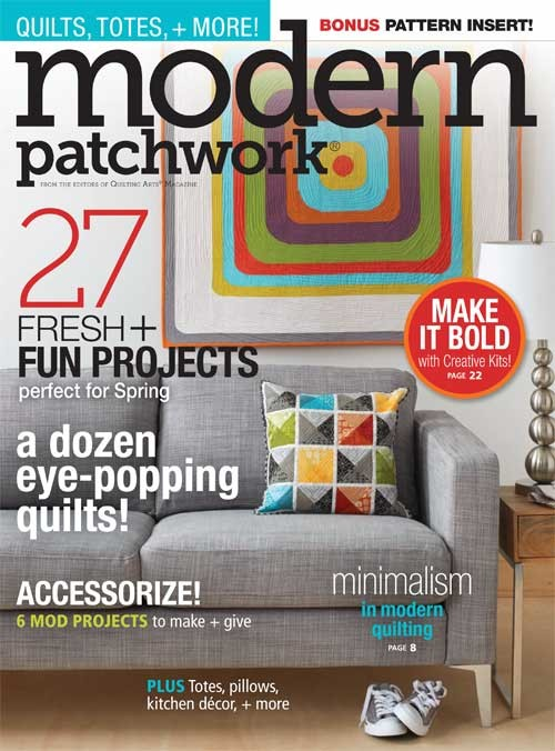 Mod Pat cover, spring 2015