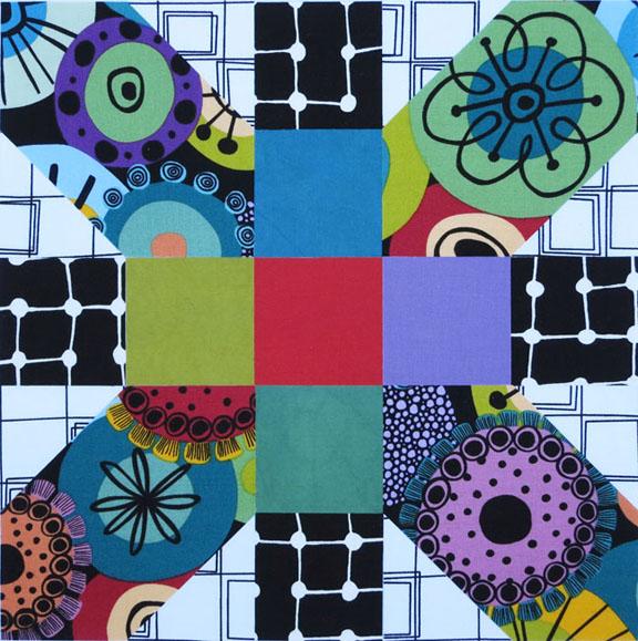 X Plus, B&W squares