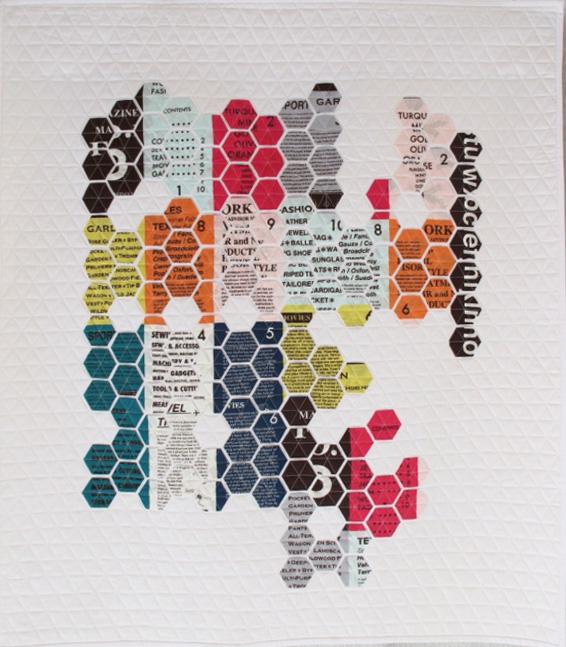 Geometric Text by Nicole Daksiewicz