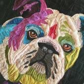 Dazzling Dog Bulldog