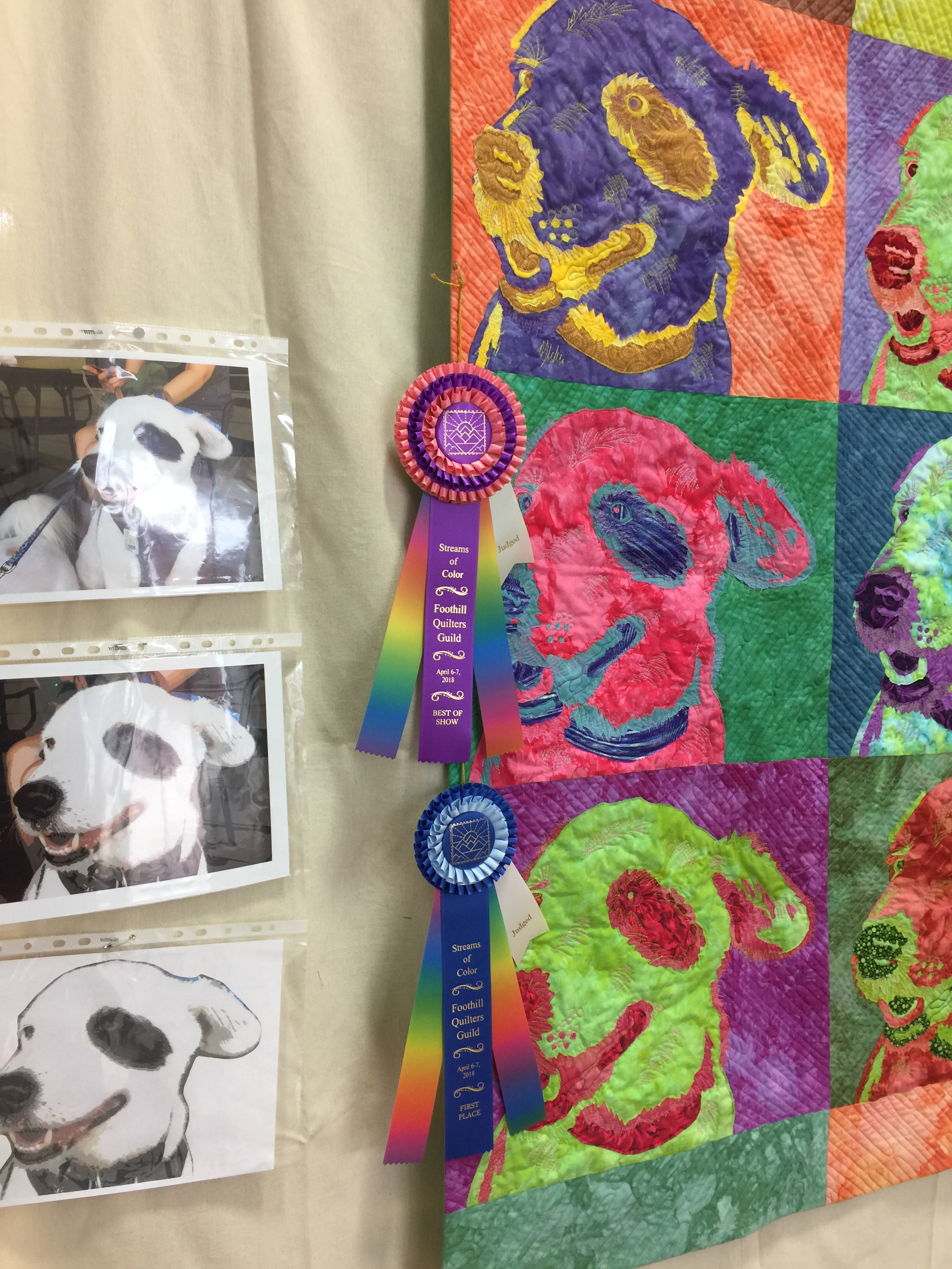 Best of Show ribbons