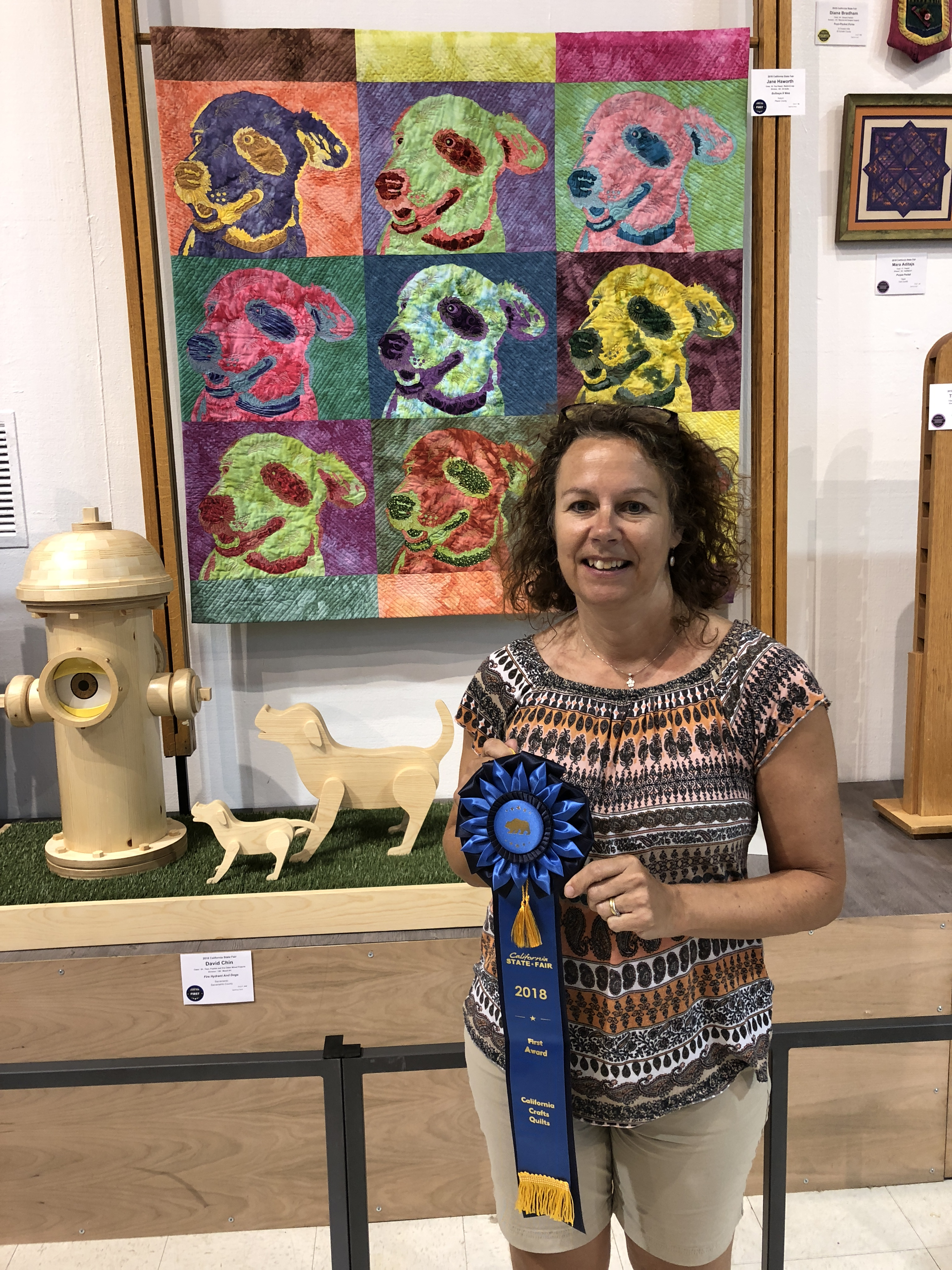 Jane Haworth at California State Fair