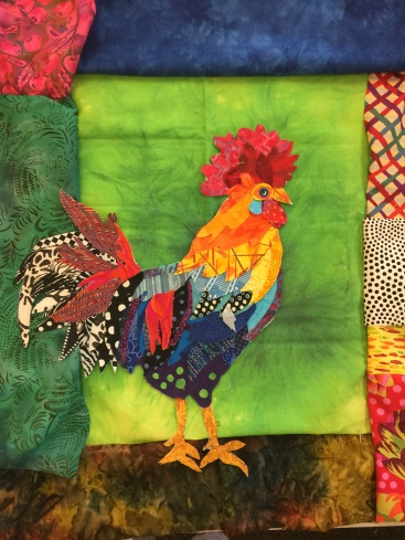 Lori's version of my rooster pattern