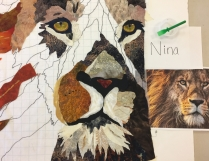 Nina's version of this lion copyright free image