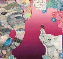 Dyanne's pretty elephant quilt
