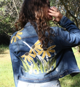 DAISY BACK jacket by Jane Haworth
