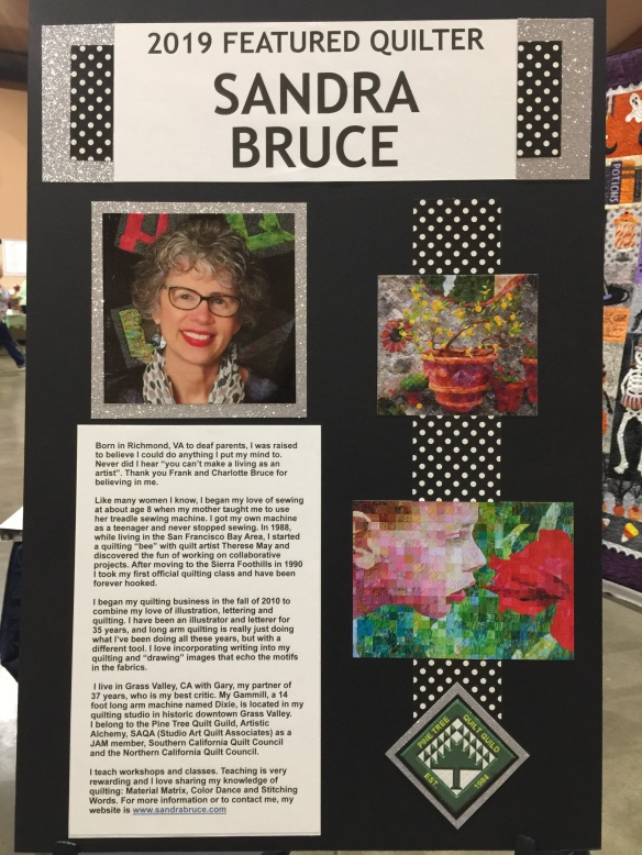 Sandra Bruce display board