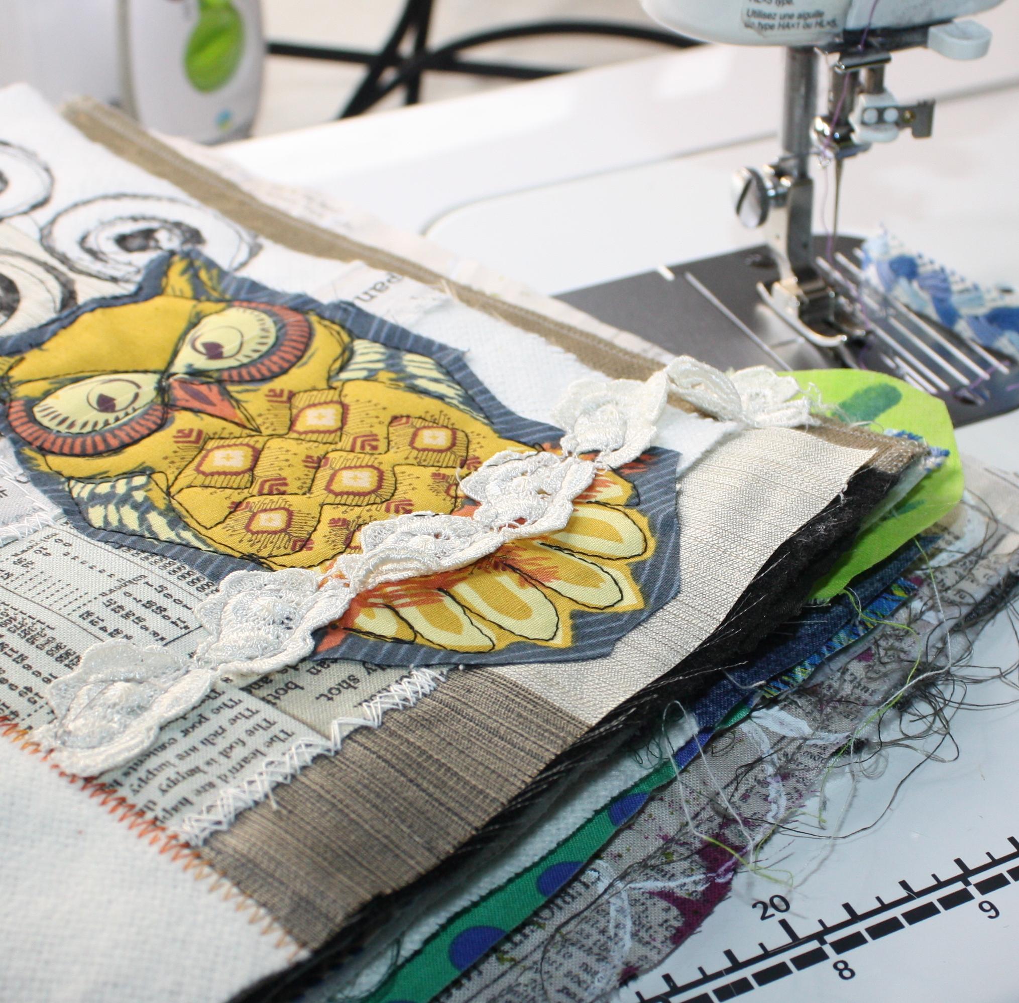 Fabric Junk Journal Jane Haworth