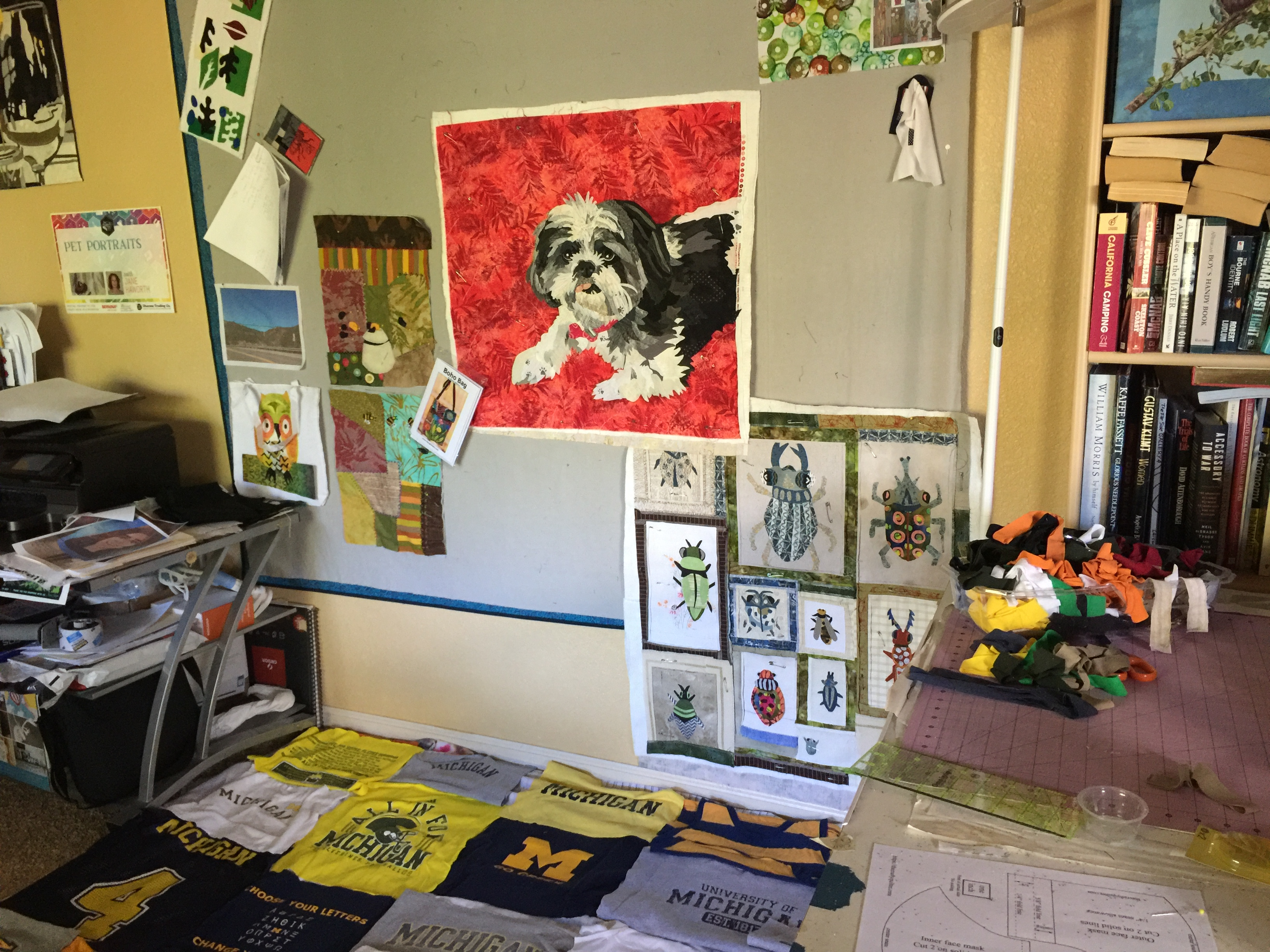 Sewing space or studio Jane Haworth